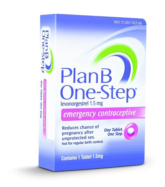 just as the packaging says plan b one step is a small white pill that the female can take within 72 hours of unprotected sex in